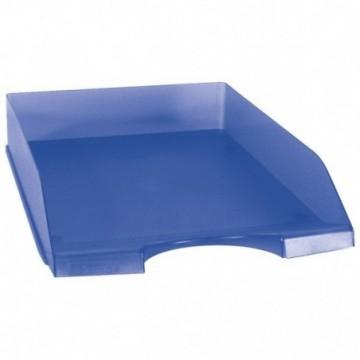 Ladice za spise prozirno plave