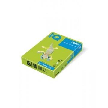 Papir A4 fotokopirni 80g IQ color intenziv LG46 Lime Green 500/1