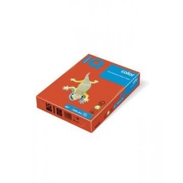 Papir A4 fotokopirni 80g IQ color intenziv ZR09 Brick Red 500/1