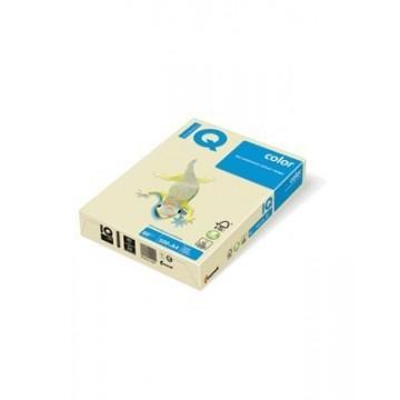 Papir A4 fotokopirni 80g IQ color pastel BE66 Vanilla 500/1