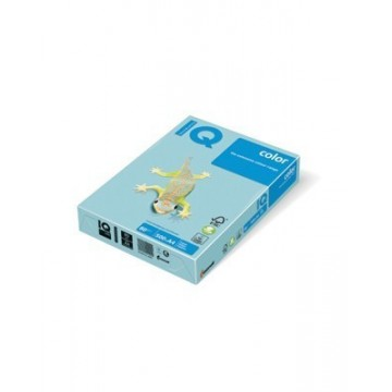 Papir A4 fotokopirni 80g IQ color pastel MB30 Medium Blue 500/1