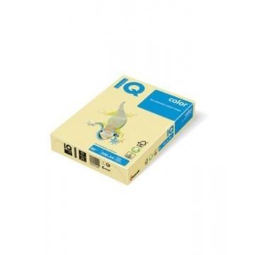 Papir A4 fotokopirni 80g IQ color pastel YE23 Yellow 500/1