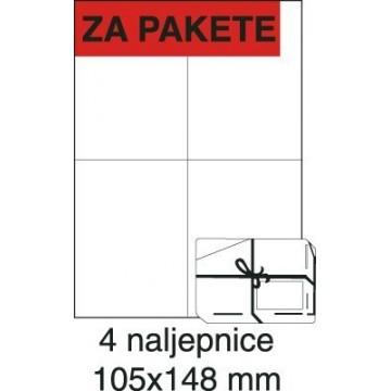 Etikete laser 105x148 100/1...