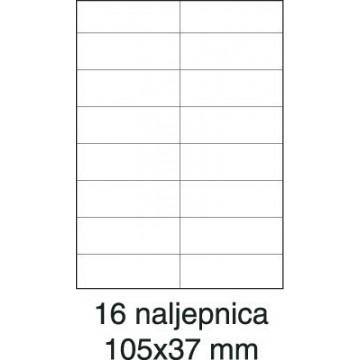Etikete laser 105x37 100/1...