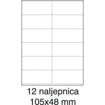 Etikete laser 105x48 100/1...