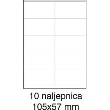 Etikete laser 105x57 100/1...