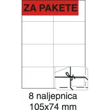 Etikete laser 105x74 100/1...
