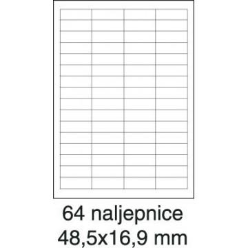Etikete laser 48,5x16,9...