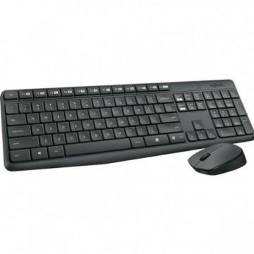 Tipkovnica LOGITECH MK235 Wireless Desktop (tipkovnica+miš)