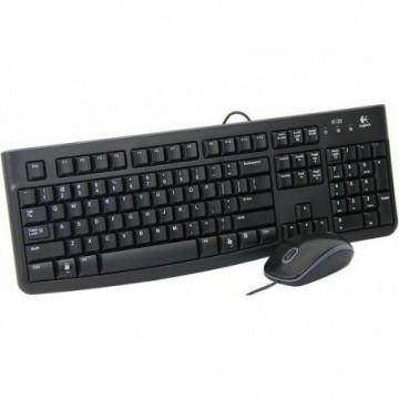 Tipkovnica LOGITECH MK120 Desktop (tipkovnica+miš)