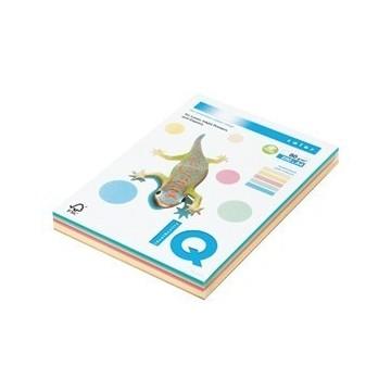 Papir fotokopirni A4 80g IQ color mix pastelne boje 250/1