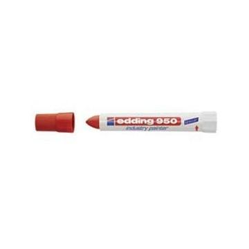 Marker industrijski painter permanentni 10mm Edding 950 crveni