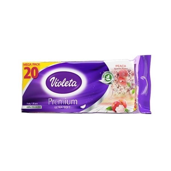Wc papir Violeta premium 20/1