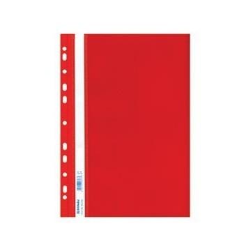 Fascikl mehanika euro pp A4 uložni crveni
