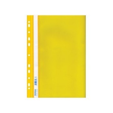 Fascikl mehanika euro pp A4 uložni žuti