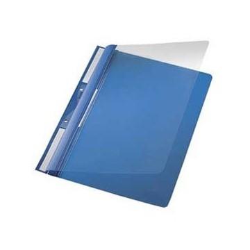 Fascikl mehanika euro s 2rupe pvc A4 Leitz plavi