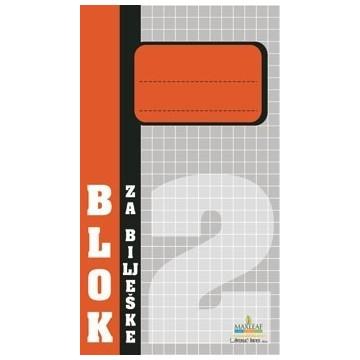 Blok za bilješke br.2...