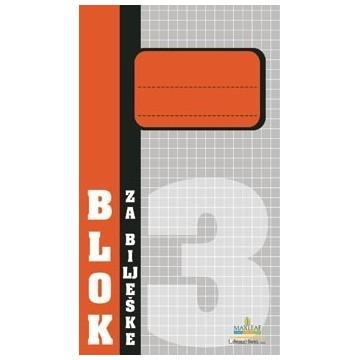 Blok za bilješke br.3...