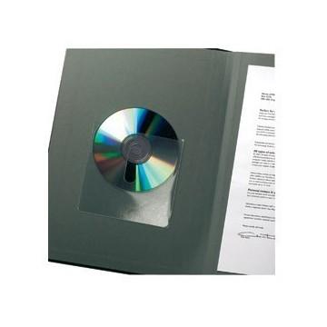 Etui za 1 CD pp samoljepljiv s prstohvatom 10/1