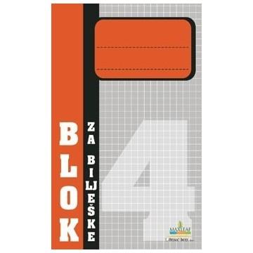 Blok za bilješke br.4...