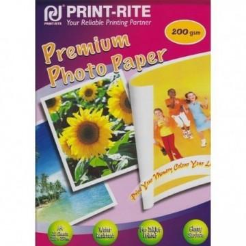 Papir PRINT RITE A4 200g/m2 Premium Photo Paper 20 listova