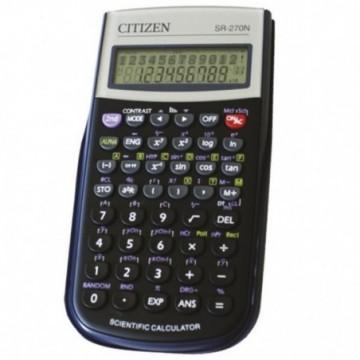 Kalkulator tehnički 10+2mjesta 236 funkcija Citizen SR-270N crni