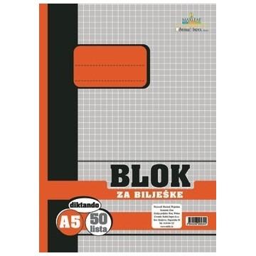 Blok za bilješke, A5...