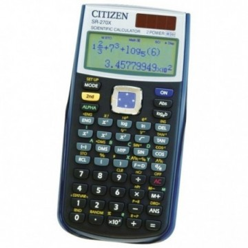 Kalkulator tehnički 10+2mjesta 251 funkcija Citizen SR-270X crni