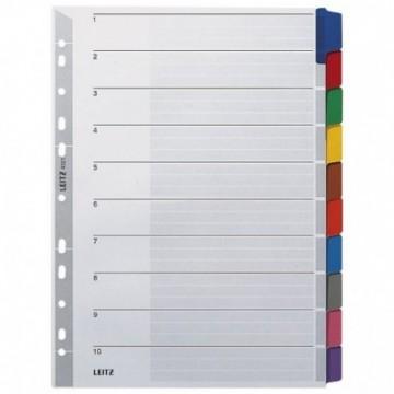 Pregrada kartonska A4 kolor 10listova