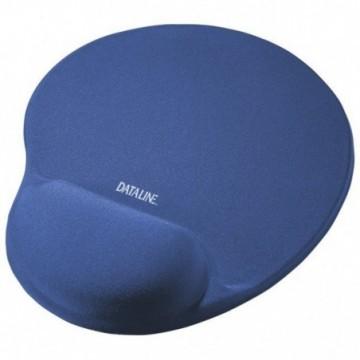 Podloga za miša ergonomska-gel Dataline plava