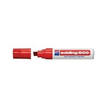 Marker permanentni 4-12mm Edding 800 crveni