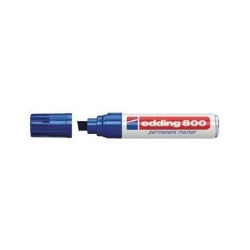 Marker permanentni 4-12mm Edding 800 plavi