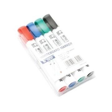 Marker za bijelu ploču STA set 4 boje