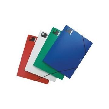 Fascikl PVC s gumicom Deli W39581