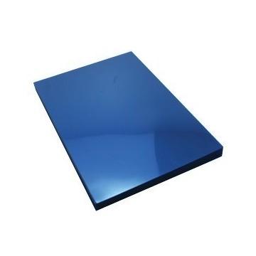 Korice za spiralni uvez 180mic 100/1 transparentno plave