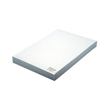Korice za spiralni uvez A4 250g reljefni karton 100/1 bijele