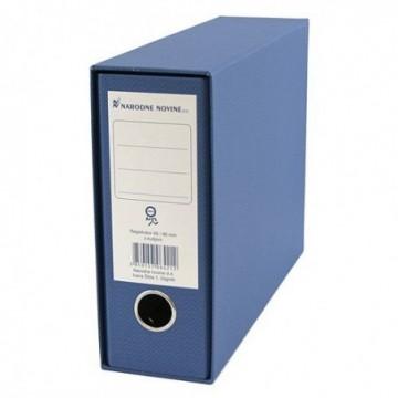 Registrator NN A5 široki plavi