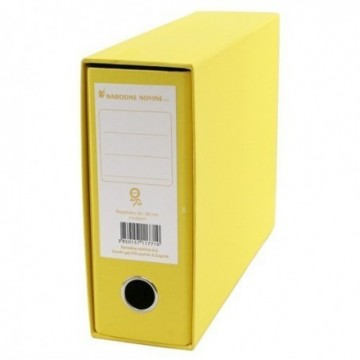 Registrator NN A5 široki žuti