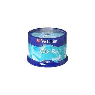 CD-R Verbatim 700 MB 52x 50/1