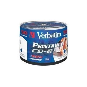 CD-R Verbatim Printabilni 50/1
