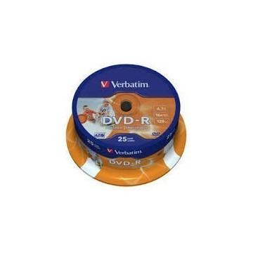 DVD-R Verbatim 4,7 GB 25/1